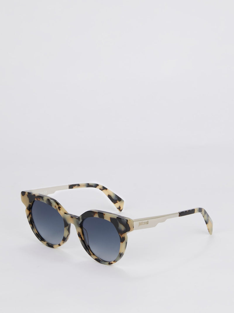 Blue Gradient Coloured Havana Sunglasses