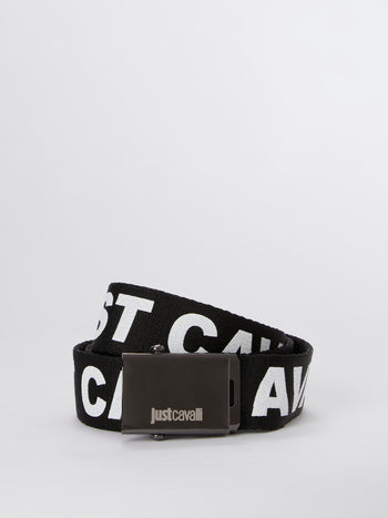 Logo Canvas Slide Belt