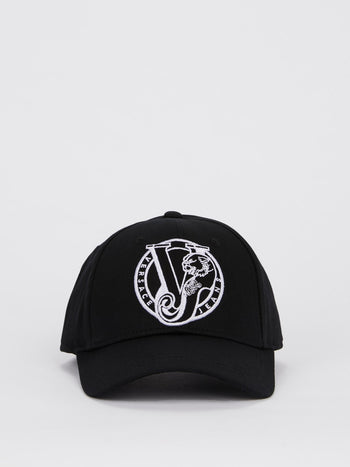 Logo Embroidered Cotton Cap