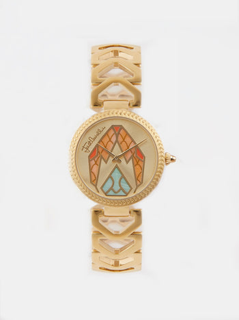 Magnifica Gold Stainless Steel Watch
