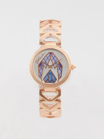 Magnifica Rose Gold Stainless Steel Watch