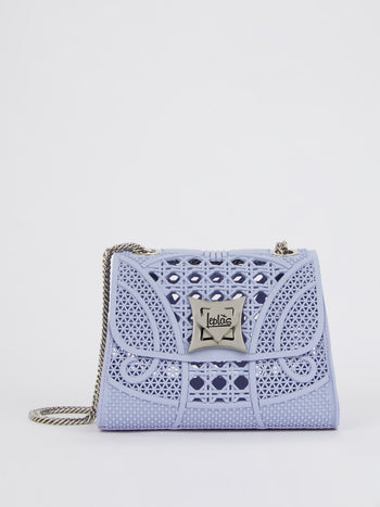 Purple Mignon Cesto Crossbody Bag