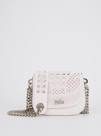 Light Pink Mini Dafne Cesto Shoulder Bag