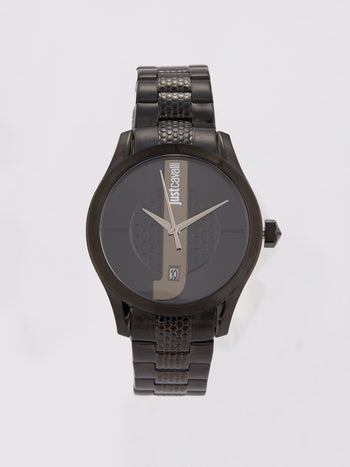 Black President Bracelet Casual Watch
