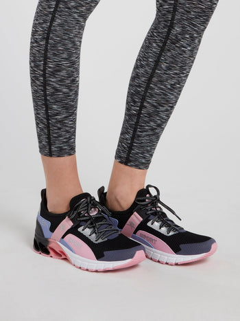 Lace Up Mesh Runner Sneakers