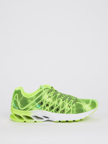 Hackett Green Running Sneakers