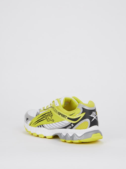 Melvin Yellow Running Sneakers
