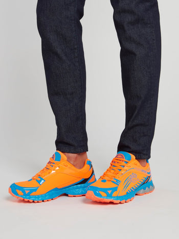 Melvin Orange Running Sneakers