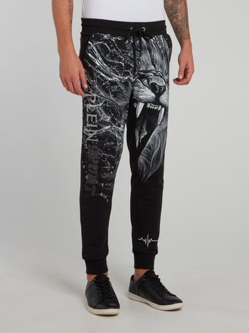 Wilfred Lion Print Jogging Trousers