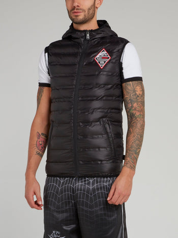 Black Down Jacket Vest