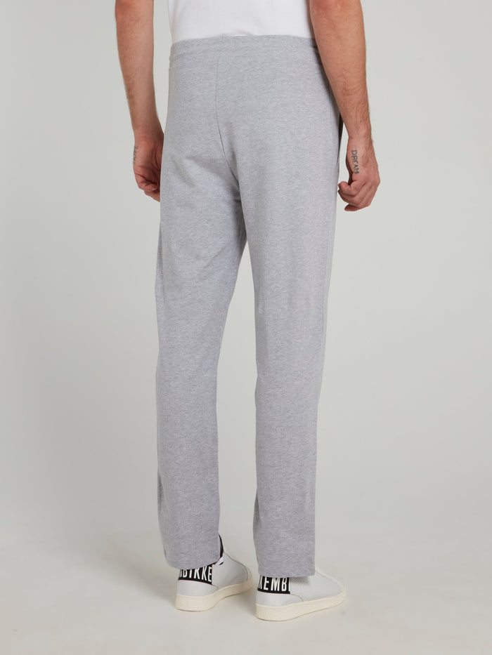 Grey Sport Icon Fleece Pants