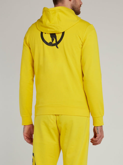 Yellow Rear Logo Jacket