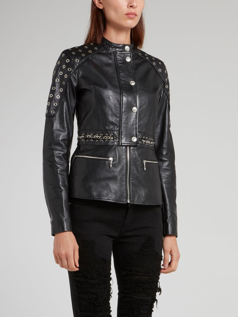 Chain Belted Sports Jacket