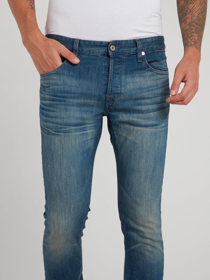Blue Fade Denim Jeans