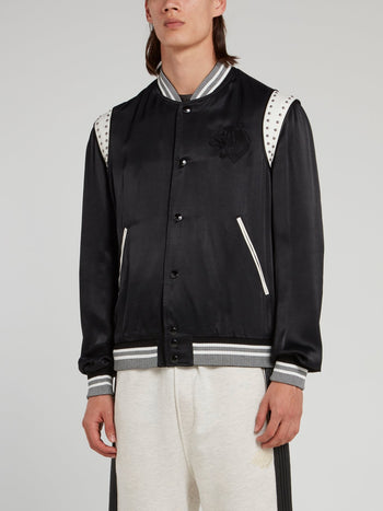 Black Stripe Edge Sports Jacket