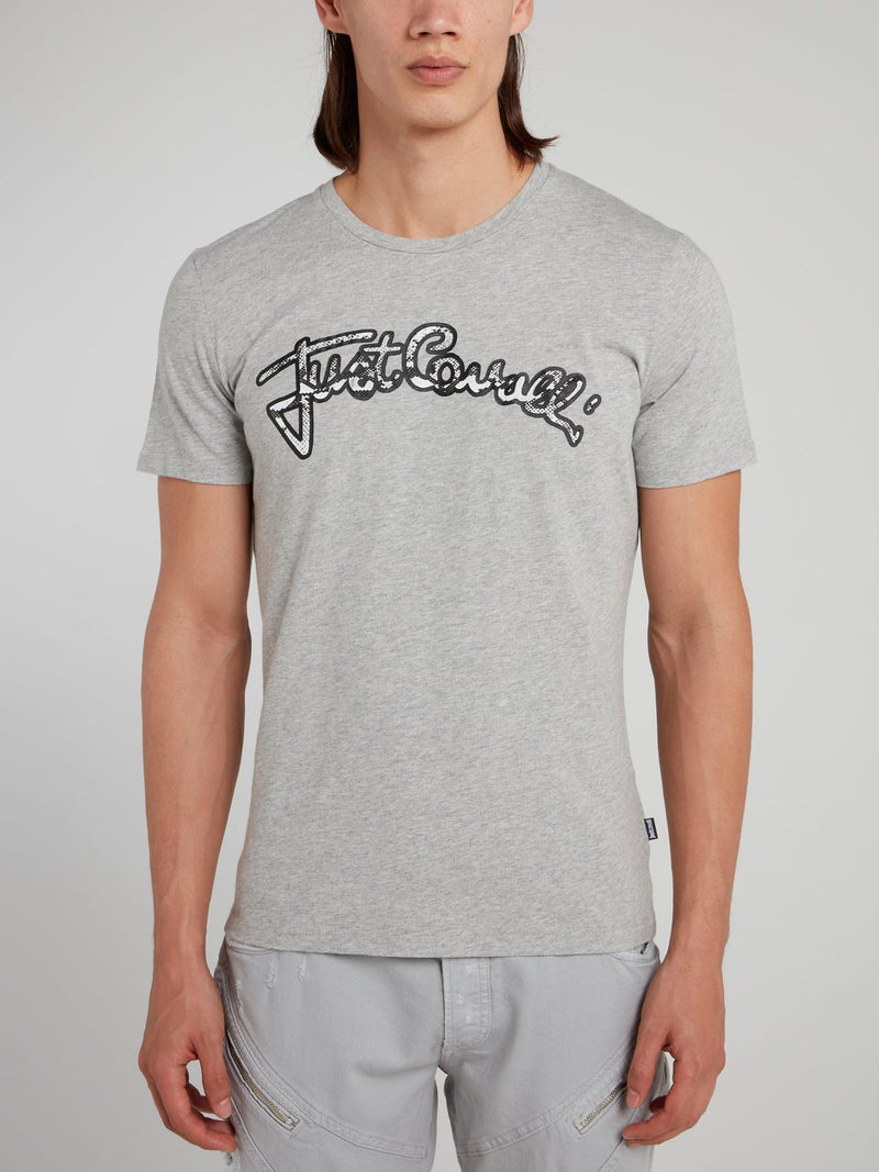 Grey Snake Logo T-Shirt