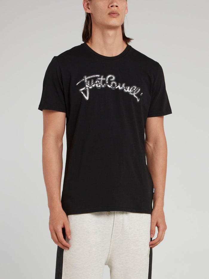 Black Snake Logo T-Shirt