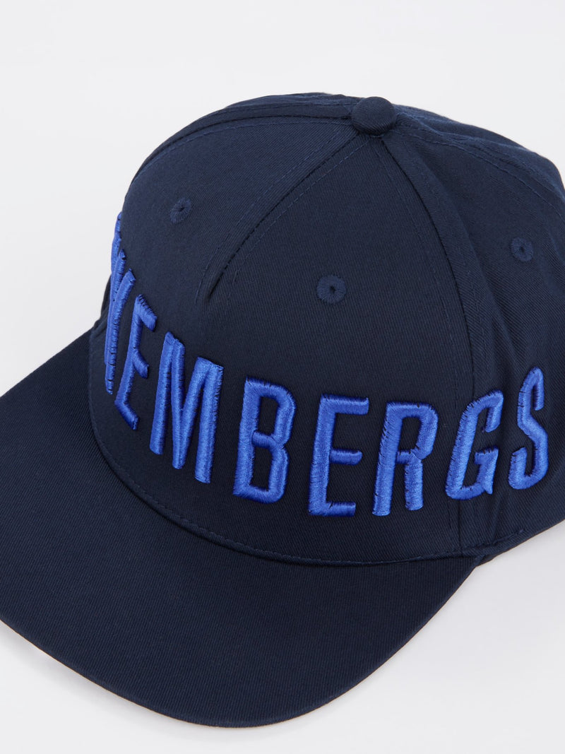 Navy Logo Embroidered Baseball Hat