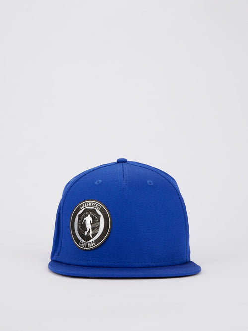 Blue Sport Logo Patch Cap