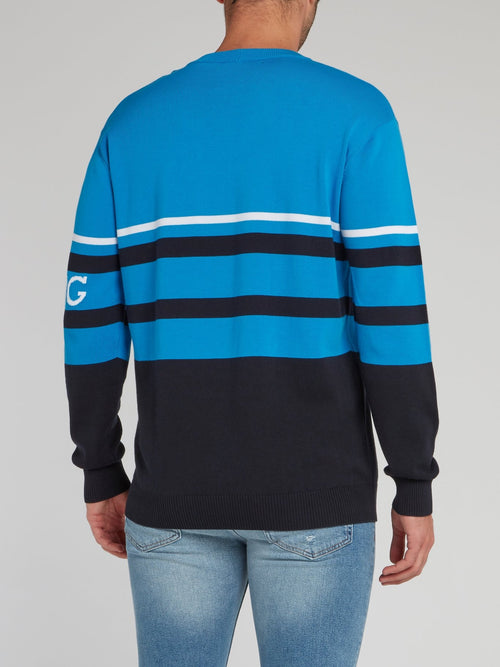 Charlie Brown Blue Knitted Sweater