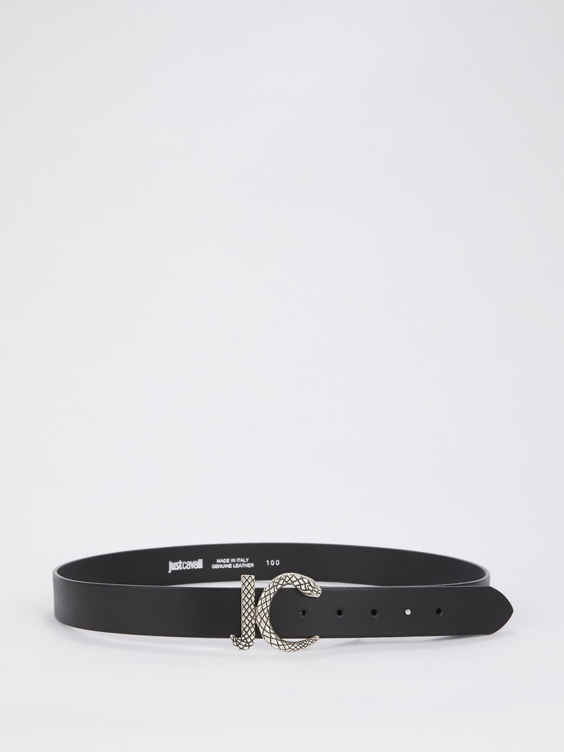 Black Snake Logo Belt