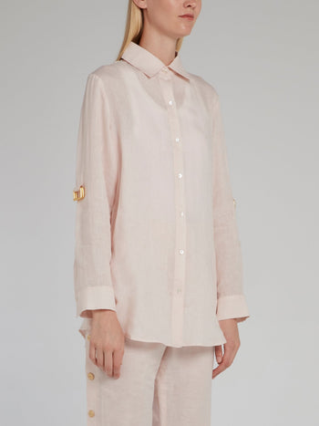 Button Up Linen Shirt