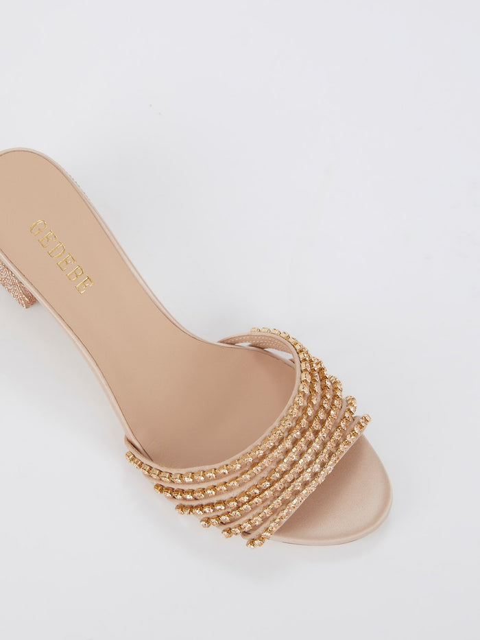 Xenia Studded Mules