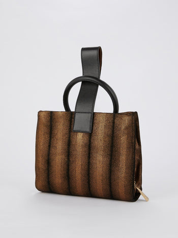 Brown Snake Effect Pochette