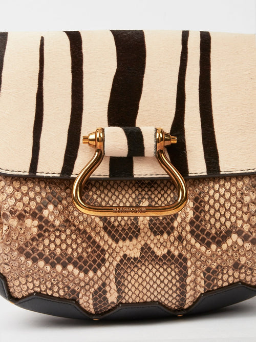 Python Effect Shoulder Bag