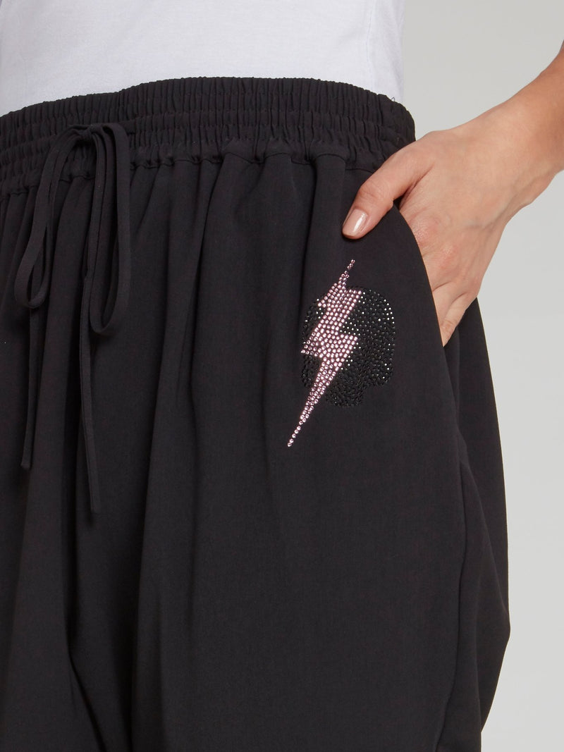 Jane Black Studded Harem Pants