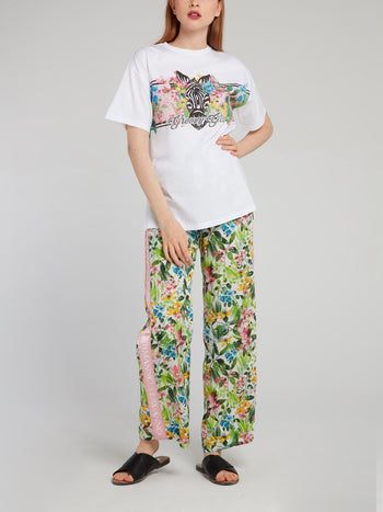 Flora and Fauna Loose Fit T-Shirt
