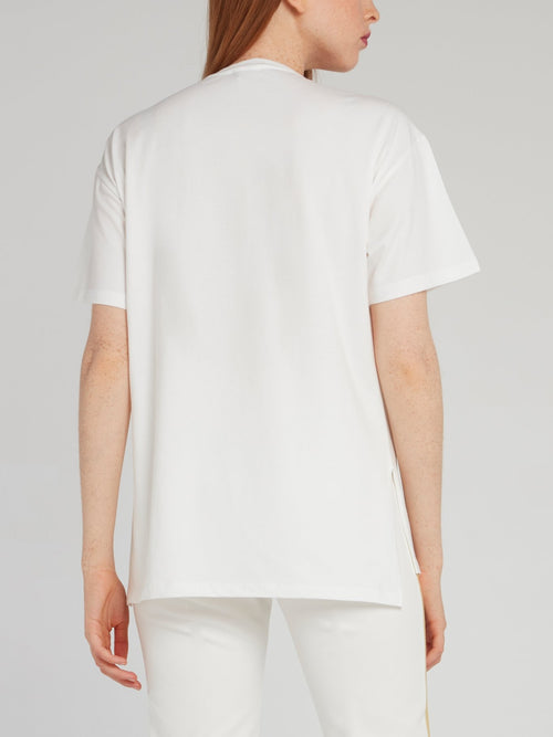 White Lace Logo T-Shirt