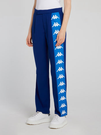 Kappa Blue Tailored Pants