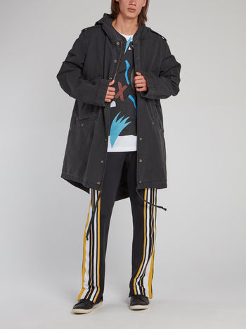 Swizz Beatz Tailcoat Parka
