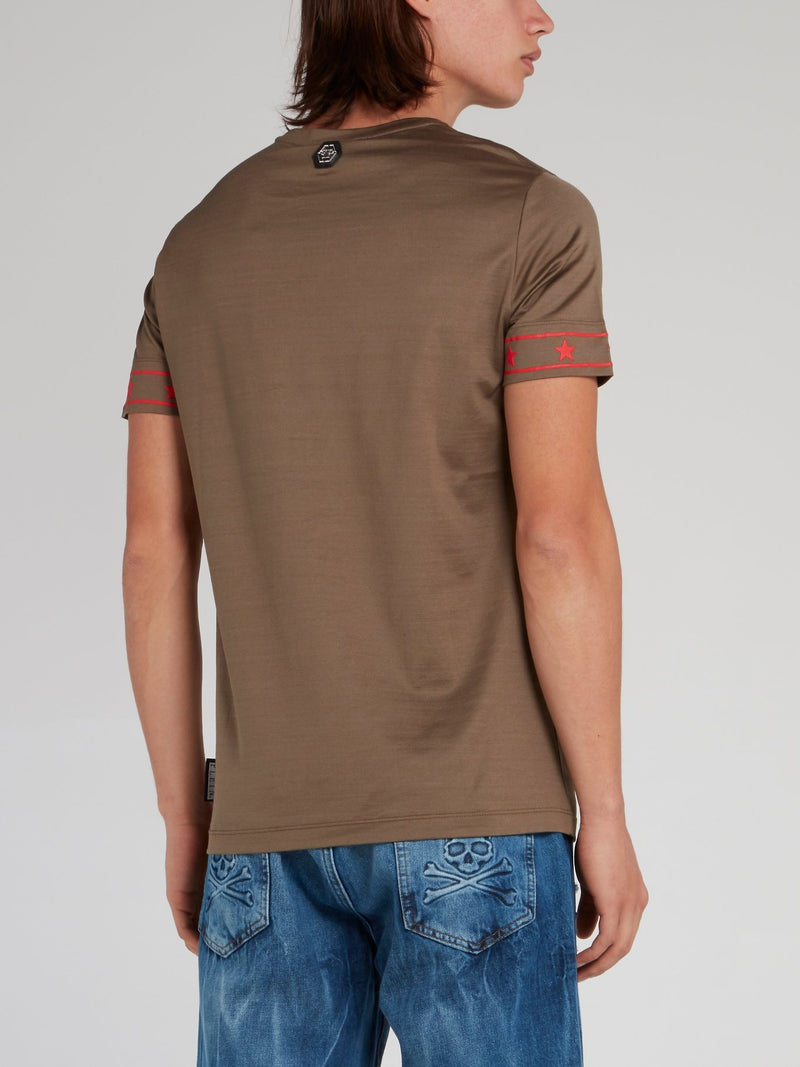 PP1978 Brown Logo T-Shirt