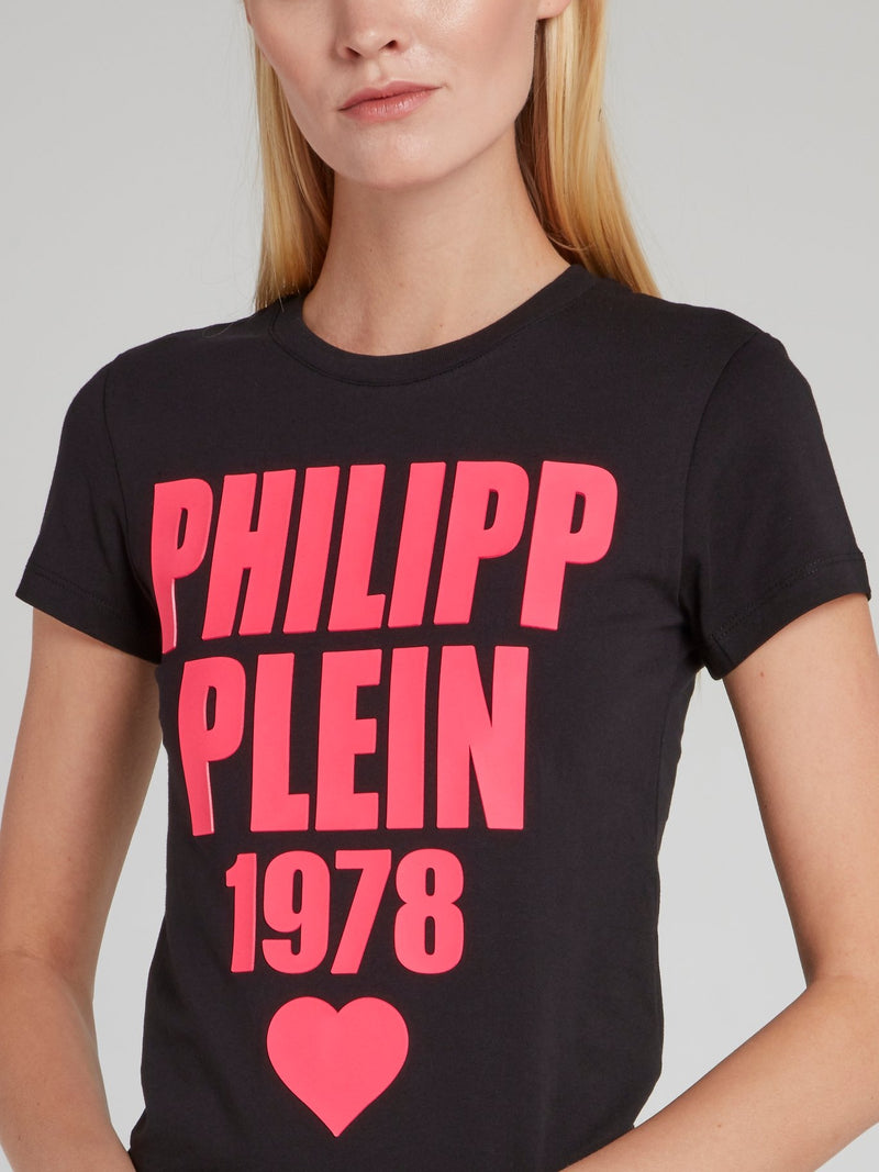 PP1978 Black Logo T-Shirt