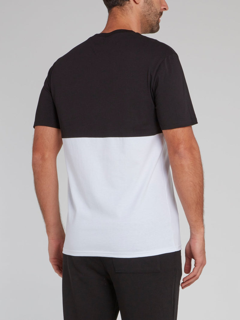 Two Tone Statement T-Shirt
