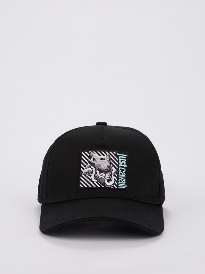 Logo Embroidered Strapback Hat