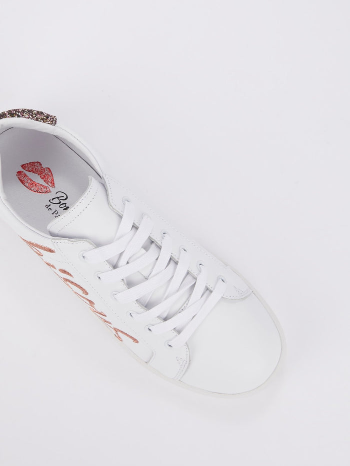Simone Bisous Lace Up Sneakers