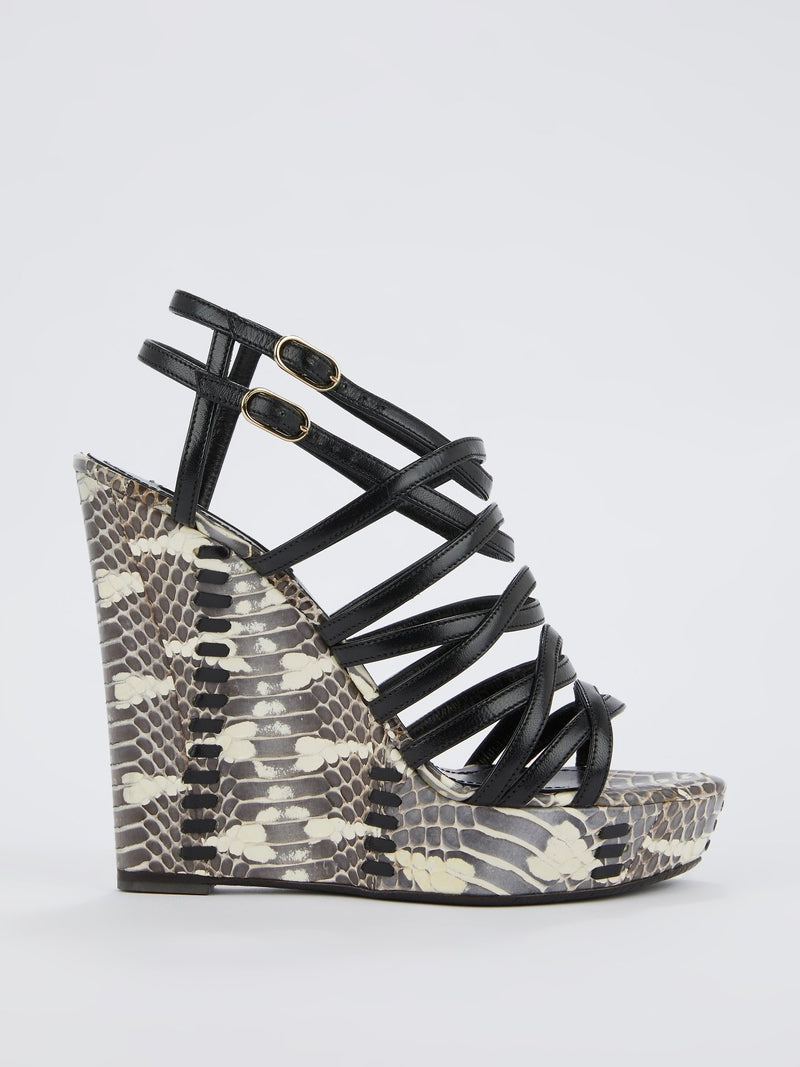 Python Effect Cage Wedges