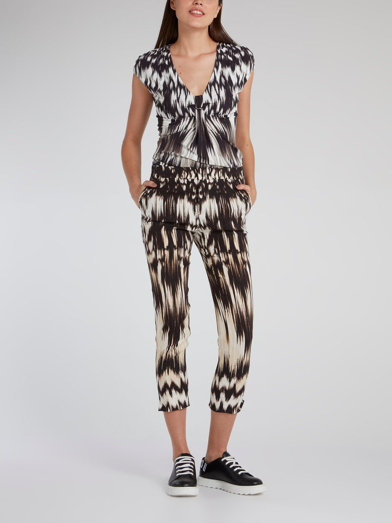 Butterfly Effect Capri Pants