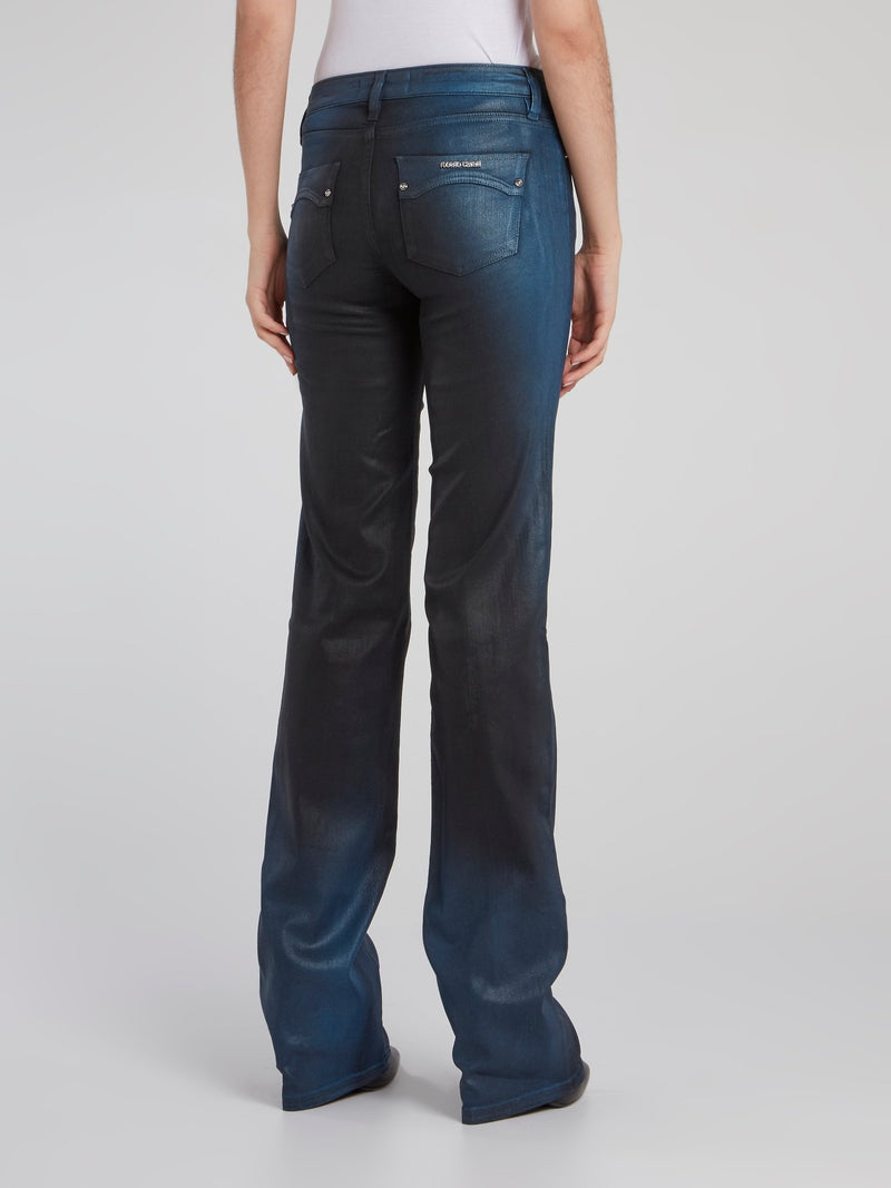 Dark Wash Bootcut Pants