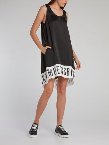 Black Statement Tank Dress