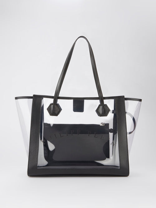 Logo Transparent Tote Bag