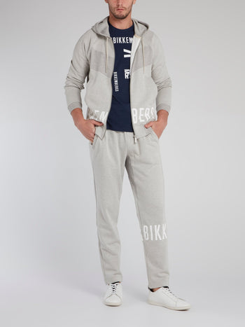 Grey Logo Active Suit