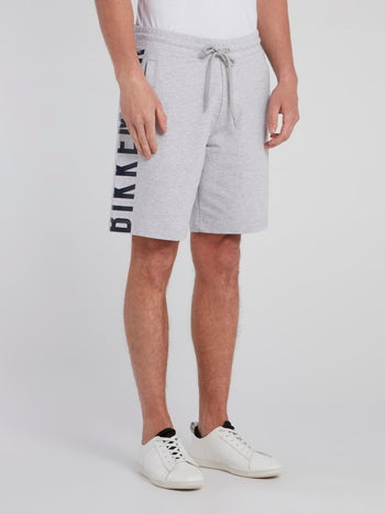 Grey Side Logo Sweatshorts