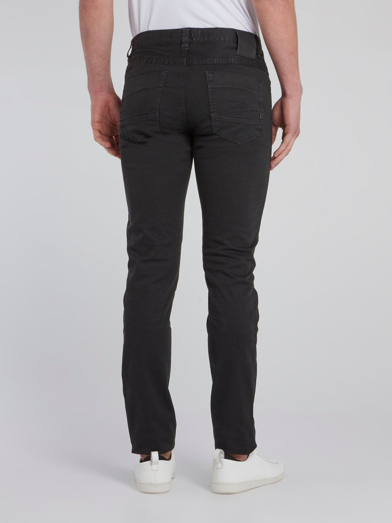 Black Slim Fit Pants
