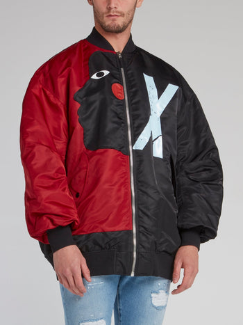 Swizz Beatz Reversible Bomber Jacket