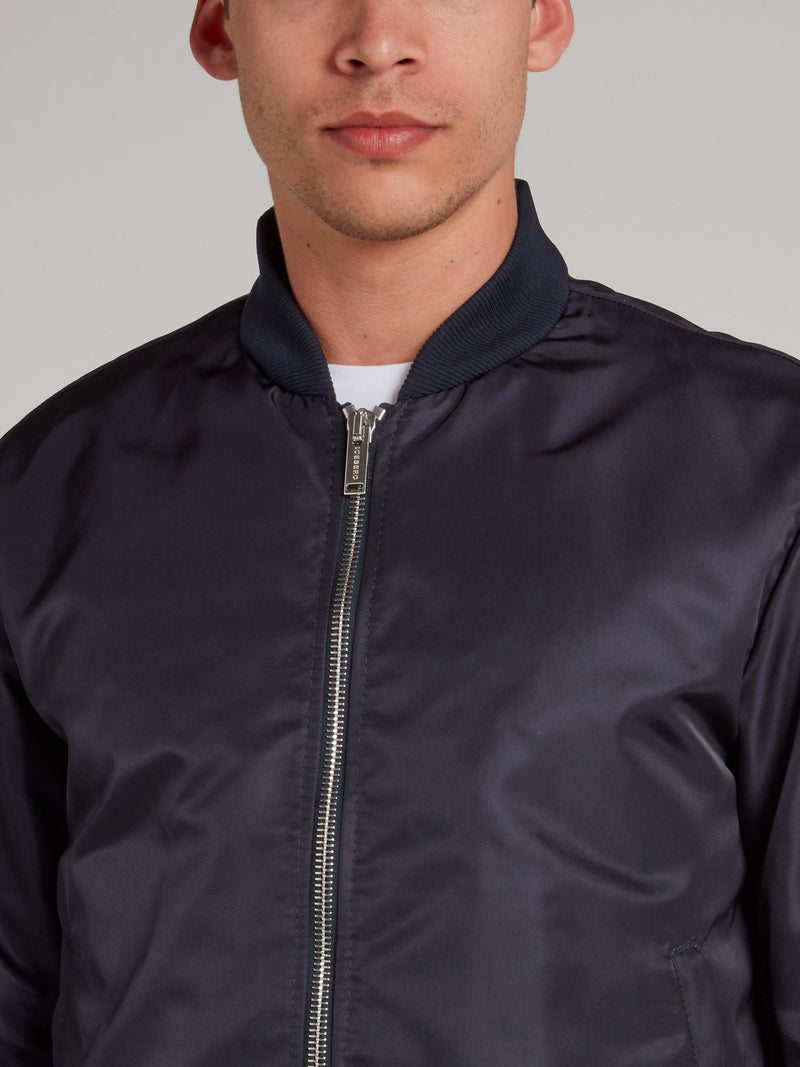 Joe Cool Navy Zip Up Jacket
