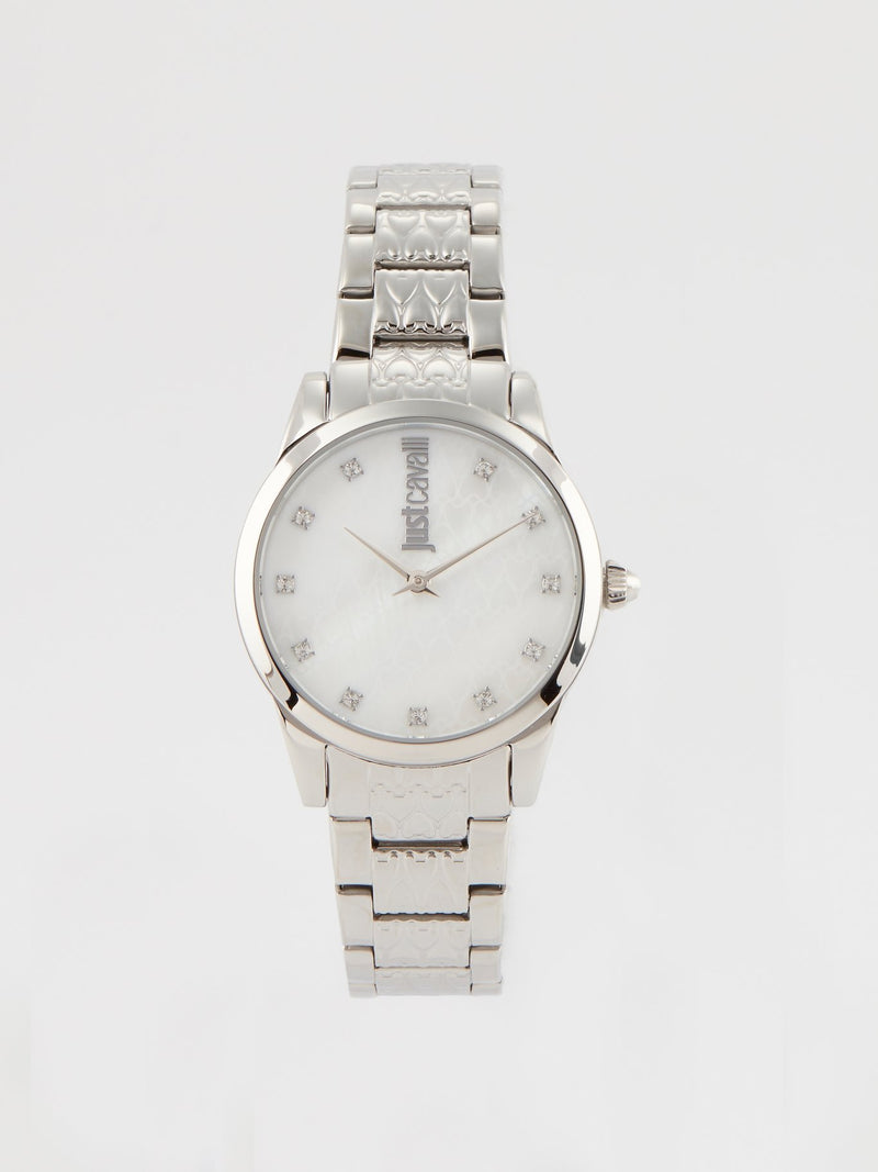 Vale's Silver Stainless Steel Watch